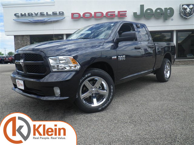 new 2017 ram 1500 tradesman express quad cab in clintonville d190 klein chrysler dodge jeep. Black Bedroom Furniture Sets. Home Design Ideas